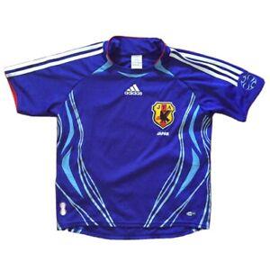 ADIDAS MAGLIA DA GIOCO JAPAN TG M KIDS FIT MAN XS VINTAGE SOCCER FOOTBALL