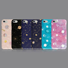 AESTHETIC COSMOS SPACE PHONE CASE FOR IPHONE SE 6S 7 8 XS XR SAMSUNG S8 S9 PLUS