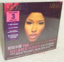 Nicki Minaj Pink Friday: Roman Reloaded The Re-Up Taiwan Ltd 2-CD+DVD w/OBI