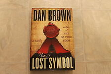 The lost symbol by Dan Brown 2009 HC 1st Ed/1st Printing