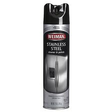 Weiman Stainless Steel Aerosol Cleaner & Polish - 12oz