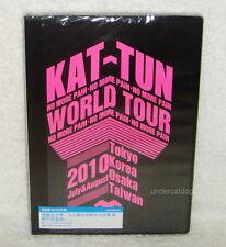 KAT-TUN No More Pain World Tour 2010 Taiwan 2-DVD+5 Postcards