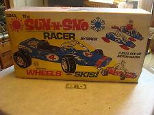 1969 SEALED unused MARX-----SUN N SNOW RACER 2 in 1 marx ride on car
