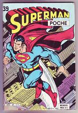 ! SUPERMAN POCHE N°39 en TRES BON ETAT !