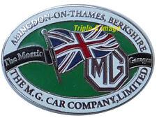 MG Abingdon-on-Thames MG Car Company lapel pin