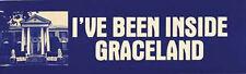 """I've Been Inside Graceland"" Elvis Retro Travel Sticker"