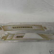 Serie Fregi Adesivi Sacche e Parafango Piaggio Vespa ET3 Oro CROMO  ELECTRONIC