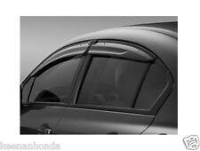Genuine OEM Honda Civic 4Dr Sedan Door Visor Kit 2012 - 2015 08R04-TR0-100
