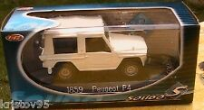 VOITURE PEUGEOT P4 BACHE SOLIDO N° 1859 1/43 BLANC IPOD