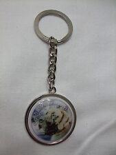 Porte-clés en métal - chien DOGUE ALLEMAND FAUVE