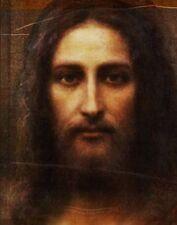 Imagen de Jesús de sudario en Turín sobre lienzo de foto estudio de arte fino Reino Unido.