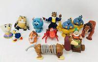 Lot Of 12 Disney Fast Food Toys Happy Meal McDonalds Wheels Vintage