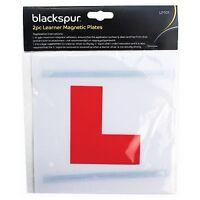 2 Pack Magnetic Magnet New Learner Driver L Plates