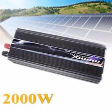 inverter 2000 watt invertitore corrente da 12 a 220 vlt per camper pannello sola