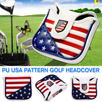 Square Mallet Putter Cover Golf Headcover For TaylorMade Spider Tour Magnet