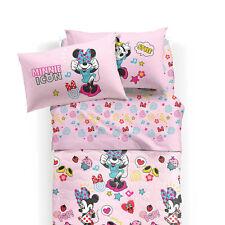 Completo lenzuola Minnie Pop Disney di Caleffi Singolo una piazza Q936
