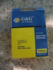 G&G NB-0LC21 Y Yellow Ink Cartridge for Brother MFC-3100C/5100C