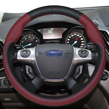 Stylish Steering Wheel Cover Wrap for 2012-2016 Ford Focus Sedan Escape SUV New
