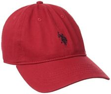 Concept One Mens Headwear U.S. Polo Assn.Solid Horse Adjustable Cap