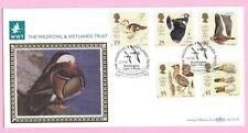 1996 Benham blcs 114b FDC-Wildfowl & Wetlands Trust-SHS Washington, T & Wear