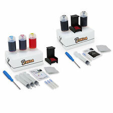 Refill Kit for HP 61 62 63 65 Black & Color Ink Cartridges