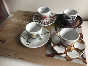 Illy Art Collection Milano 2015٫ 4 Expresso Cups Brand New In Its Original Box