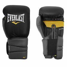 Everlast Protex 3 Gel EVERCOOL Removable Full Elastic Sheath Boxing Gloves Black