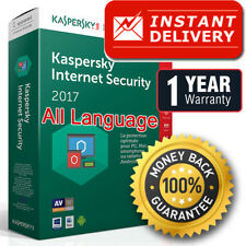 Kaspersky Internet Security 2017/2018 (1PC) (1Year) licence key