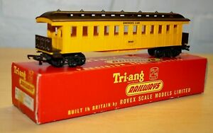 Vintage Triang R448 Old Time Coach, Smoking Car, RN 257, Boxed
