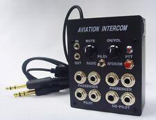4 utilisateurs pilotes aviation avions Interphone (appels / musique) avec bouton PTT