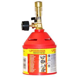 Rothenberger Bunsenbrenner Gas Laborbrenner für Schule Labor Werkstatt 0194