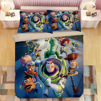 Toy Story Single/Double/Queen/King Bed Doona/Quilt/Duvet Cover Set Pillowcase