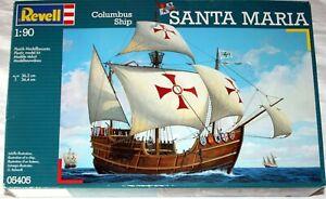 REVELL Santa Maria Columbus Ship 1:90 Segelschiff Plastik Modellbausatz 05405 NE