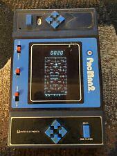 Entex 1981 PacMan 2 Handheld Vintage Video Game Original Works Electronic