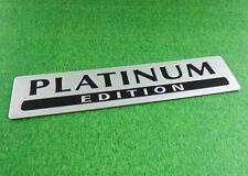 Aluminum PLATINUM EDITION for Special Limited Pathfinder Emblem Badge Sticker