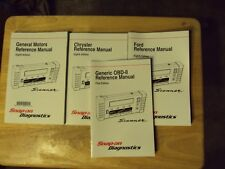 Snap On Tools GM,Ford & Chrysler Scanner Reference  Manuals eighth Edition