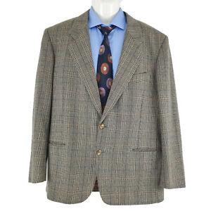 Balenciaga Paris Mens Sport Coat Blazer Jacket Striped Wool Sz EU 50 AU 40 SP78