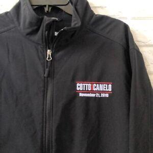 Port Authority Cotto vs Canelo 2015 boxing jacket Men's XL