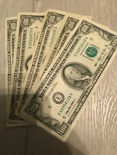 (1) $100  FEDERAL RESERVE HUNDRED DOLLAR BILL..OLD CURRENCY..SMALL HEADS