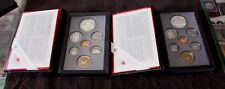 Canada Proof set 1989 1990 with Box and CAO