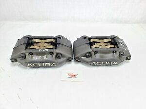 2009 Acura RL Advics Brake Caliper Front Left Right Pair OEM