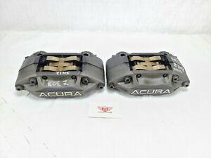 2009 Acura RL Advics Brake Caliper Front Left Right Pair OEM