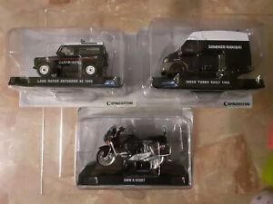 Modellini mezzi carabinieri Land Rover - Iveco - Bmw De Agostini