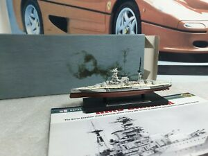 ATLAS EDITIONS  - HMS BARHAM - 1/1250 SCALE MODEL - BATTLE SHIP COLLECTION