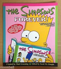RARE! SIMPSONS FOREVER Complete Guide Book SEASON 9/10 1999 Matt Groening