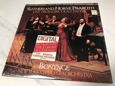 """Sealed"" SUTHERLAND HORNE PAVAROTTI ""Live from Lincoln Center"" 2 LP-set, Bonynge"