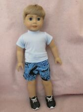 Shorts Set fits American Boy Doll 18 Inch Clothes Seller lsful