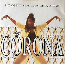 "CORONA - I Don't Wanna Be A Star (12"") (VG-/VG+)"