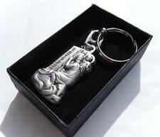 St Christopher Keyring Polished Metal Gift Boxed BRAND NEW