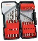 Bosch HSS-R Set, Stahlbohrer-Set 18 tlg. 2608589294 in Tough Box
